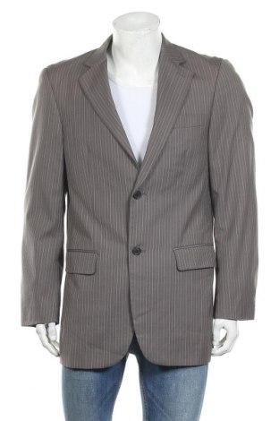 Мъжко сако Angelo Litrico, Размер M, Цвят Сив, 100% вълна, Цена 3,00лв.