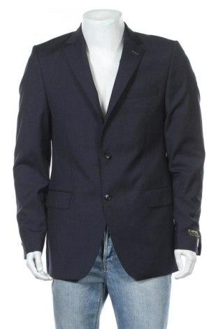 Ανδρικό σακάκι Camp David, Μέγεθος L, Χρώμα Μπλέ, Μαλλί, Τιμή 19,73€