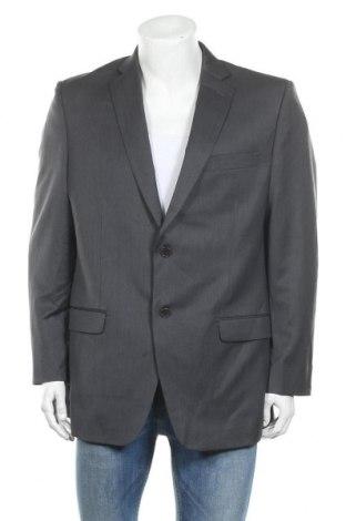 Мъжко сако DKNY, Размер S, Цвят Сив, 80% вълна, 20% полиестер, Цена 56,88лв.