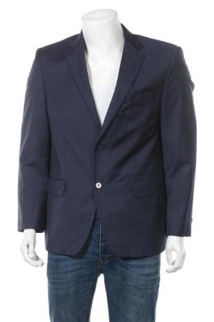 Ανδρικό σακάκι Daniel Hechter, Μέγεθος L, Χρώμα Μπλέ, Μαλλί, Τιμή 13,35€