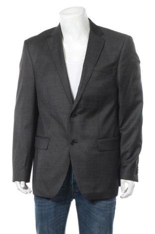Ανδρικό σακάκι Daniel Hechter, Μέγεθος XL, Χρώμα Γκρί, 55% πολυεστέρας, 45% βισκόζη, Τιμή 16,02€