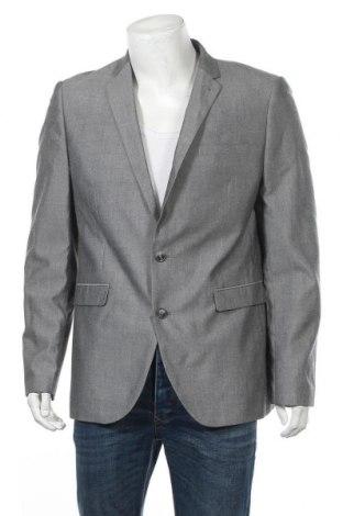 Мъжко сако Primark, Размер S, Цвят Сив, 68% полиестер, 32% вискоза, Цена 3,00лв.