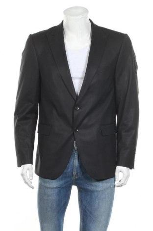 Pánské sako  Strellson, Velikost L, Barva Černá, 59% vlna, 39% polyester, 2% elastan, Cena  360,00Kč