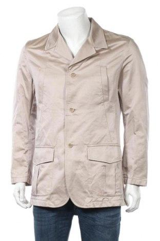 Мъжко сако Zara, Размер L, Цвят Бежов, 74% памук, 26% полиестер, Цена 15,59лв.