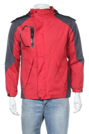 Ανδρικό αθλητικό μπουφάν Aibrou, Μέγεθος S, Χρώμα Κόκκινο, Πολυεστέρας, Τιμή 30,41€