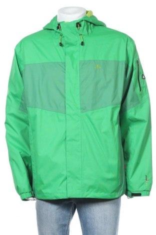 Мъжко спортно яке Ock, Размер XL, Цвят Зелен, Полиестер, Цена 50,40лв.