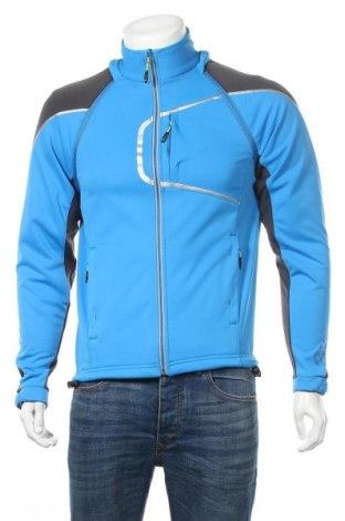 Мъжко спортно яке Quechua, Размер M, Цвят Син, 87% полиестер, 13% полиуретан, Цена 36,91лв.