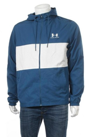 Pánská sportovní bunda  Under Armour, Velikost L, Barva Modrá, Polyester, Cena  784,00Kč