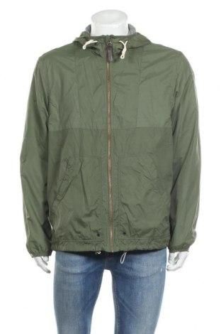 Мъжко яке H&M L.O.G.G., Размер XL, Цвят Зелен, Полиамид, Цена 27,56лв.