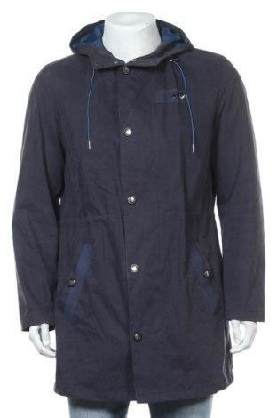 Ανδρικό μπουφάν Montego, Μέγεθος M, Χρώμα Μπλέ, 70% βαμβάκι, 30% πολυαμίδη, Τιμή 21,65€