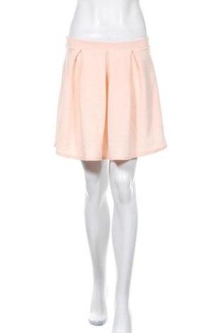 Пола Boohoo, Размер M, Цвят Розов, 95% полиестер, 5% еластан, Цена 7,09лв.