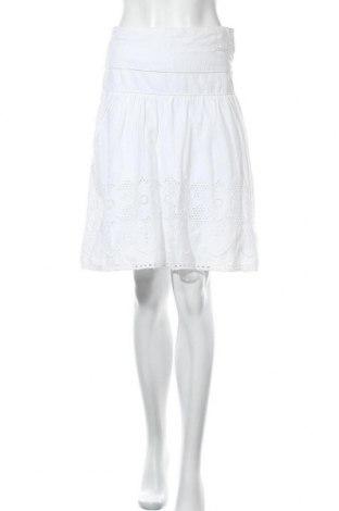 Пола Camaieu, Размер S, Цвят Бял, Памук, Цена 8,40лв.
