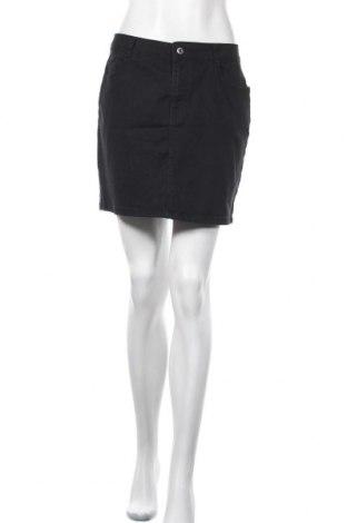 Пола Denim&Co., Размер M, Цвят Черен, 98% памук, 2% еластан, Цена 6,30лв.