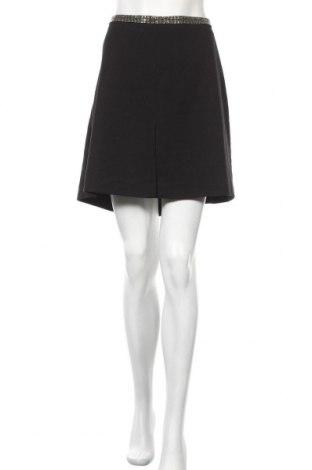 Пола H&M, Размер XL, Цвят Черен, 63% полиестер, 35% вискоза, 2% еластан, Цена 8,12лв.