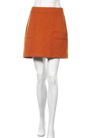 Пола H&M, Размер M, Цвят Оранжев, 65% полиестер, 35% вискоза, Цена 3,47лв.