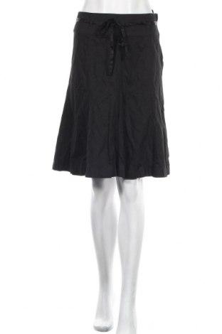 Пола H&M, Размер S, Цвят Черен, 95% памук, 5% еластан, Цена 6,24лв.