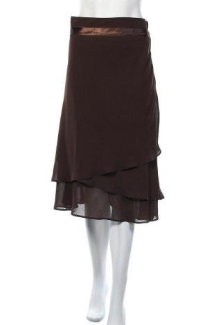 Пола H&M, Размер XL, Цвят Кафяв, Полиестер, Цена 14,96лв.