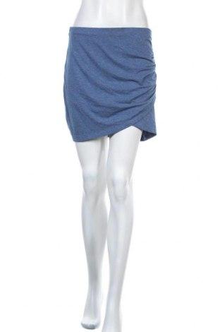 Пола H&M, Размер M, Цвят Син, 60% полиестер, 30% памук, 4% еластан, Цена 5,51лв.
