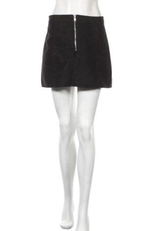 Пола H&M Divided, Размер M, Цвят Черен, Полиестер, Цена 6,48лв.