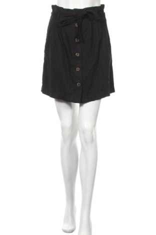 Пола H&M L.O.G.G., Размер S, Цвят Черен, 55% лен, 45% вискоза, Цена 21,75лв.