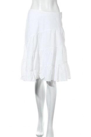 Пола H&M L.O.G.G., Размер S, Цвят Бял, Памук, Цена 6,83лв.