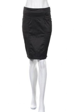 Φούστα Lulumary, Μέγεθος S, Χρώμα Μαύρο, 55% πολυεστέρας, 41% βαμβάκι, 4% ελαστάνη, Τιμή 4,68€