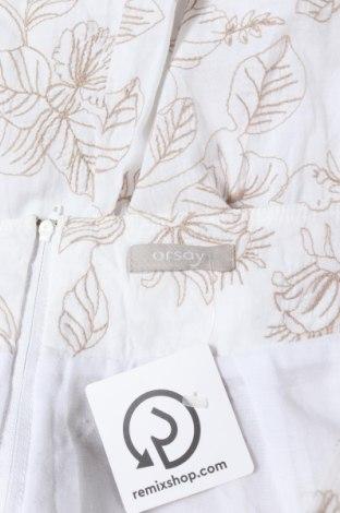 Пола Orsay, Размер XS, Цвят Бял, Памук, Цена 15,96лв.