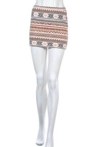 Пола Vero Moda, Размер XS, Цвят Многоцветен, 93% памук, 7% еластан, Цена 4,35лв.