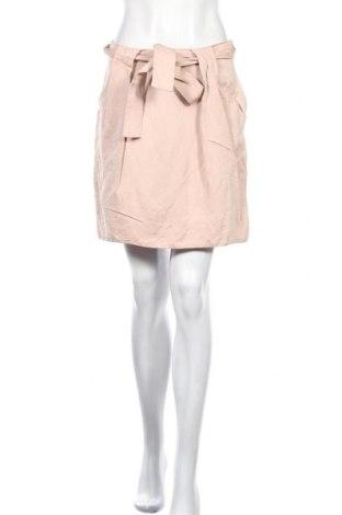 Пола Zara, Размер M, Цвят Розов, 52% лен, 48% вискоза, Цена 9,60лв.