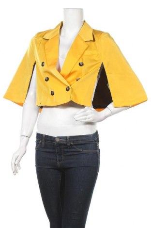 Пончо Kling, Размер M, Цвят Жълт, Полиестер, Цена 29,50лв.