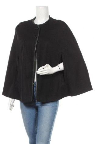 Пончо Zara, Размер S, Цвят Черен, 80% вълна, 20% полиамид, Цена 49,00лв.