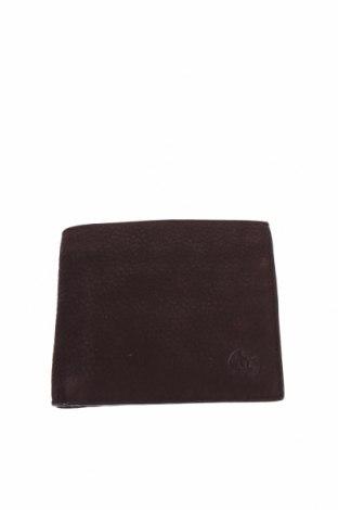 Πορτοφόλι Massimo Dutti, Χρώμα Καφέ, Φυσικό σουέτ, Τιμή 26,68€