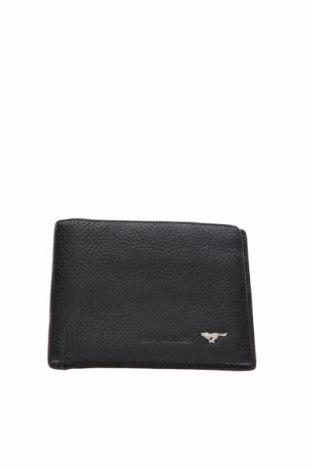 Πορτοφόλι Septwolves, Χρώμα Μαύρο, Γνήσιο δέρμα, Τιμή 21,04€