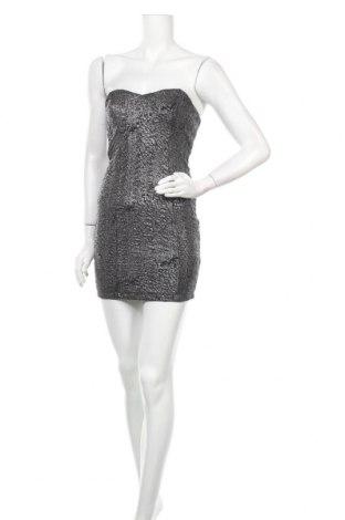 Šaty  Amisu, Velikost S, Barva Modrá, 96% polyester, 4% elastan, Cena  108,00Kč