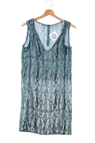 Рокля Garcia Jeans, Размер XS, Цвят Зелен, Полиестер, Цена 21,42лв.
