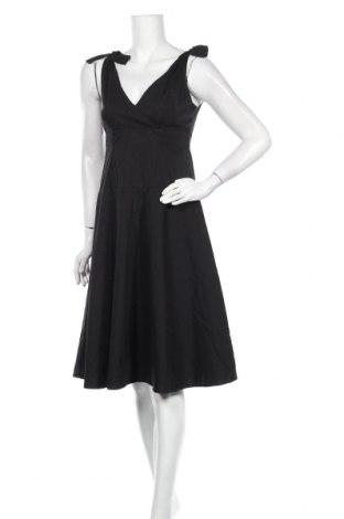 Φόρεμα Hallhuber, Μέγεθος M, Χρώμα Μαύρο, 67% βαμβάκι, 28% πολυαμίδη, 5% ελαστάνη, Τιμή 38,00€