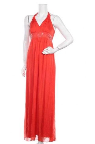 Φόρεμα Hallhuber, Μέγεθος XS, Χρώμα Πορτοκαλί, Μετάξι, Τιμή 19,78€