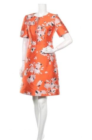 Φόρεμα Hugo Boss, Μέγεθος M, Χρώμα Πορτοκαλί, 64% πολυεστέρας, 36% βαμβάκι, Τιμή 70,18€