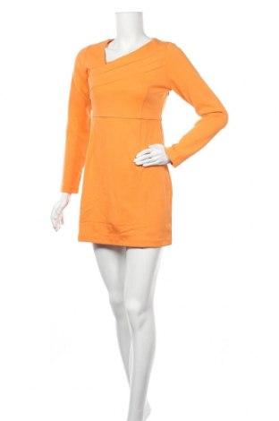 Рокля Kling, Размер M, Цвят Оранжев, 62% вискоза, 33% памук, 5% еластан, Цена 34,50лв.