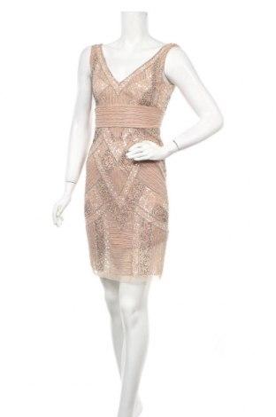 Рокля Lace & Beads, Размер M, Цвят Бежов, Полиестер, Цена 63,07лв.