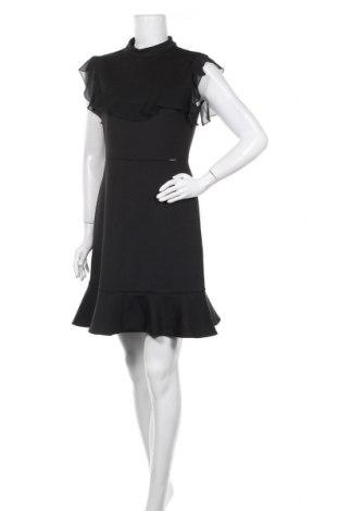 Рокля Liu Jo, Размер XL, Цвят Черен, 92% полиестер, 8% еластан, Цена 69,02лв.
