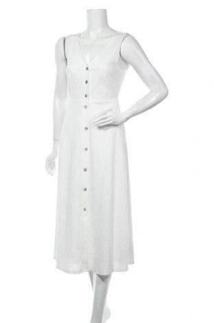 Φόρεμα Massimo Dutti, Μέγεθος XS, Χρώμα Λευκό, 55% βισκόζη, 45% πολυαμίδη, Τιμή 33,74€