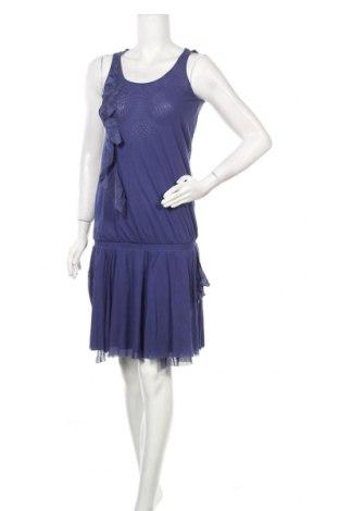 Рокля Max&Co., Размер S, Цвят Син, Полиамид, коприна, Цена 54,04лв.