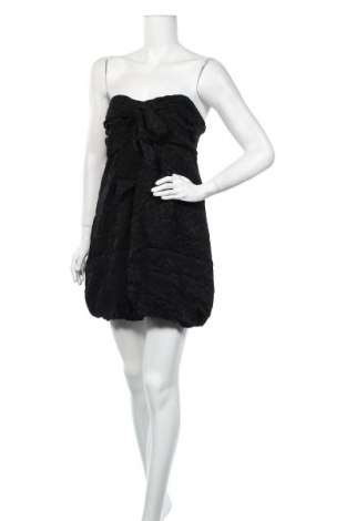 Рокля Miss Selfridge, Размер M, Цвят Черен, 77% вискоза, 23% полиестер, Цена 7,09лв.