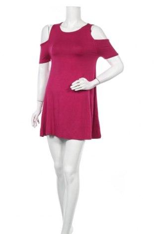 Φόρεμα Pink Woman, Μέγεθος S, Χρώμα Ρόζ , 95% βισκόζη, 5% ελαστάνη, Τιμή 14,60€