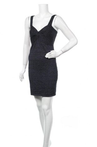 Φόρεμα Qed London, Μέγεθος M, Χρώμα Μαύρο, 70% βισκόζη, 20% πολυεστέρας, 10% μεταλλικά νήματα, Τιμή 6,37€
