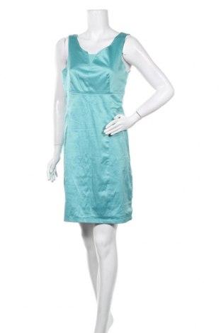 Рокля St-Martins, Размер M, Цвят Син, 67% полиестер, 31% памук, 2% еластан, Цена 10,54лв.