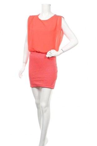 Рокля Tout Feu Tout Femme, Размер S, Цвят Розов, 95% полиестер, 5% еластан, Цена 10,29лв.