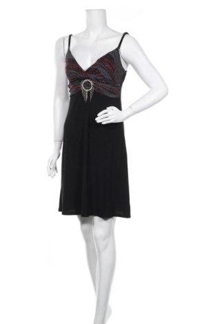 Рокля Tout Feu Tout Femme, Размер M, Цвят Черен, 92% полиестер, 8% еластан, Цена 23,21лв.