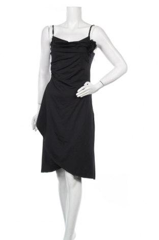 Рокля Tout Feu Tout Femme, Размер S, Цвят Черен, 95% полиестер, 5% еластан, Цена 26,46лв.